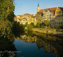 Postcard from Tübingen, Germany by L Lee McIntyre