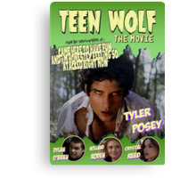 Teen Wolf Old Comic Canvas Print