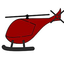 Red Helicopter by kwg2200