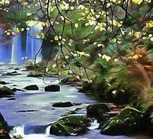 Sgwd-yr-eira-waterfalls, Wales by GPiggott