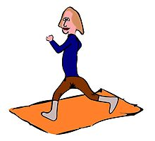 Woman Exercising by kwg2200