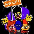 Avenue Q by rubynrags