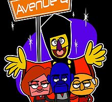 Avenue Q by rubynrags