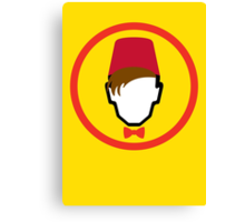 Man With Fez Canvas Print