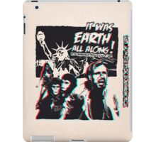 Planet of the Apes - 3D ver. iPad Case/Skin