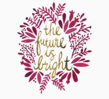 The Future is Bright – Pink & Gold Kids Clothes