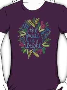 The Future is Bright – Watercolor T-Shirt