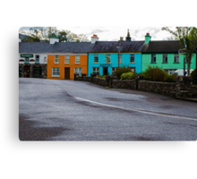 The Colors of Sneem 2 Canvas Print