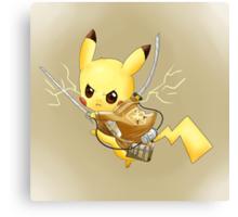 Attack on Titan Pikachu Canvas Print