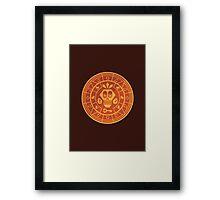 Mumbo's Gold Framed Print