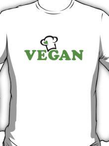 Vegan Cook, Chefs Hat T-Shirt