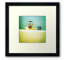 Snorkel and Mask Framed Print