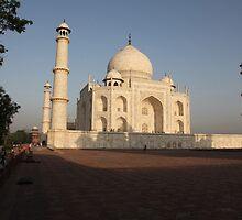The Taj Mahal at Sunrise by John Dalkin