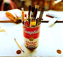 Soup Can Pencil cup by YoPedro