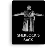 Sherlock's Back Canvas Print