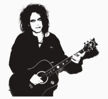 Robert Smith - The Cure by Andrew Alcock