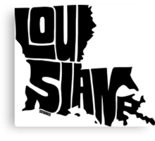 Louisiana Canvas Print