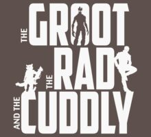 The Groot, The Rad and the Cuddly (V02 Graphite) by coldbludd