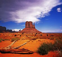 The Mitten of Monument Valley by Daniel H Chui