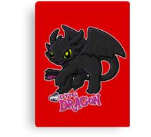 My Little Dragon Canvas Print