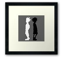 The Light and the Shadow Framed Print