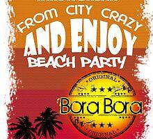 Summer In Bora Bora by dejava