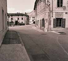 the town of Vipava by Yael Kisel