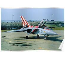 Panavia Tornado F.3 ZE907 Poster