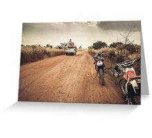 Cambodia Dirt Riding Greeting Card