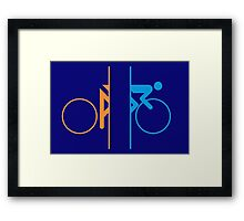 Portal Bike Framed Print