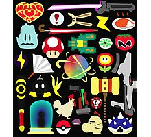 Choose Your Weapon! (SSB Items) Photographic Print