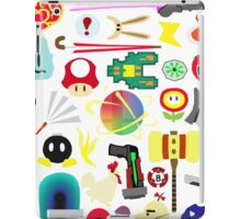 Choose Your Weapon! (SSB Items) iPad Case/Skin
