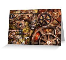 Steampunk - Gears - Inner Workings Greeting Card