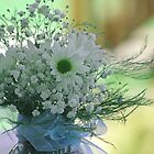 *Daisies and Baby's Breath* by Darlene Lankford Honeycutt