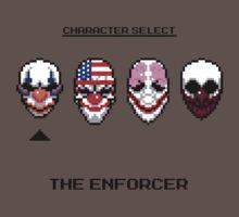 Masking up - The Enforcer T-Shirt