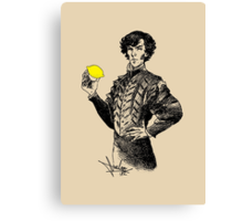 Not Sure if the Lemon is in Play?! Canvas Print