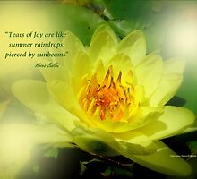 Tears of Joy by Charmiene Maxwell-batten
