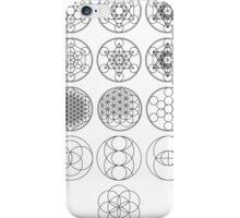 13 Circles of Sacred Geometry | FRESH iPhone Case/Skin