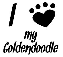 I Heart My Goldendoodle by kwg2200