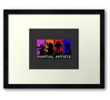 Martial Artists Framed Print