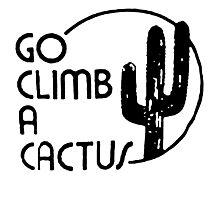 Go Climb A CACTUS Photographic Print
