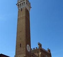 Torre Del Mangia, Siena. 1348 by wiggyofipswich