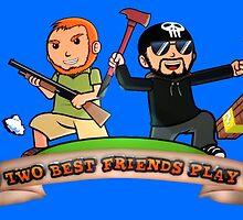 Two Best Friends Play S6 Logo by TechnoKhajiit