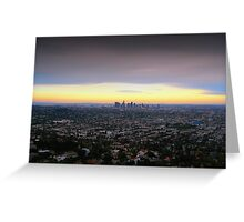 Los Angeles, California Greeting Card
