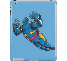 Gigantor the space age robot - grungy iPad Case/Skin