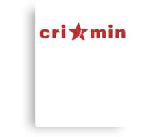 Crimin Brand Canvas Print
