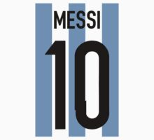 Lionel Messi -Argentina World Cup 2014  by refreshdesign