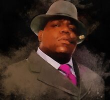 Biggie Smalls Notorious Rapp Dream Wrap by nikkiidaniels