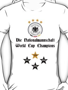 Germany World Cup Champions T-Shirt