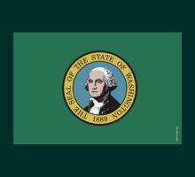 Washington State Flag by USAswagg2